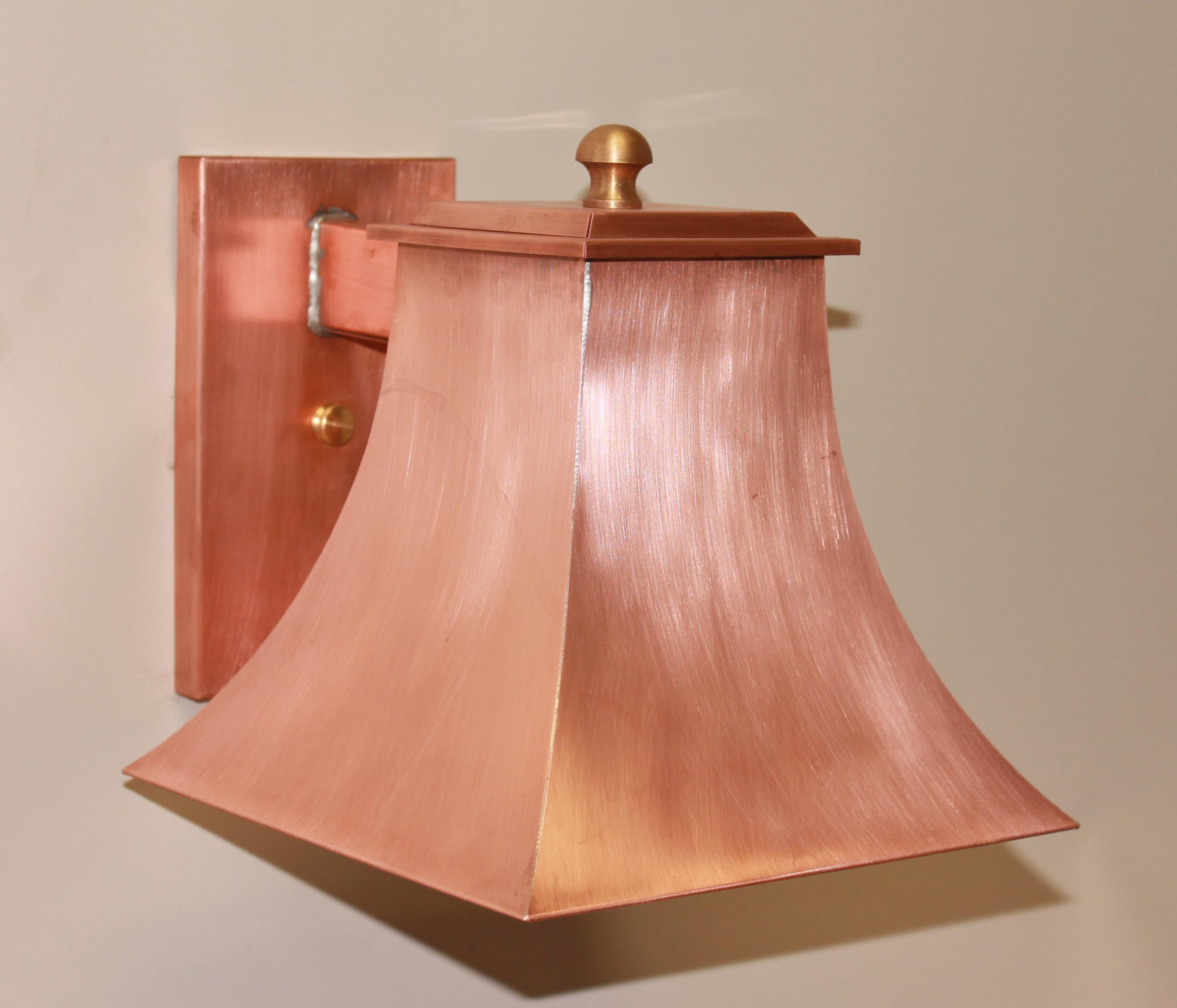1081 Copper Sconce